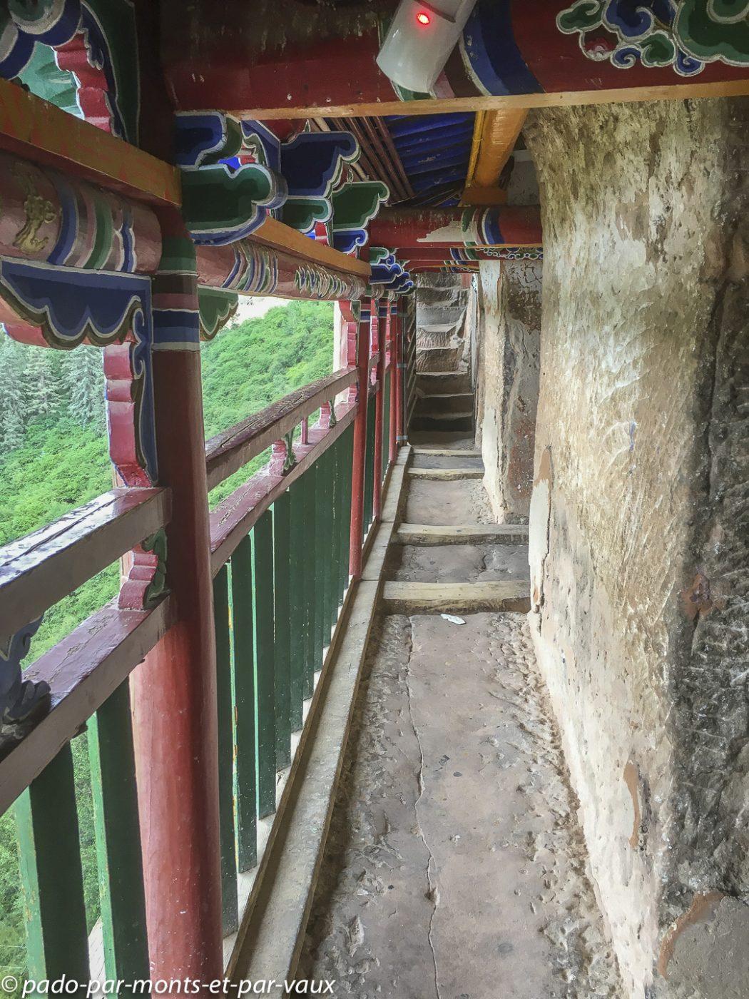 Zhangye  - Monastère du sabot de cheval