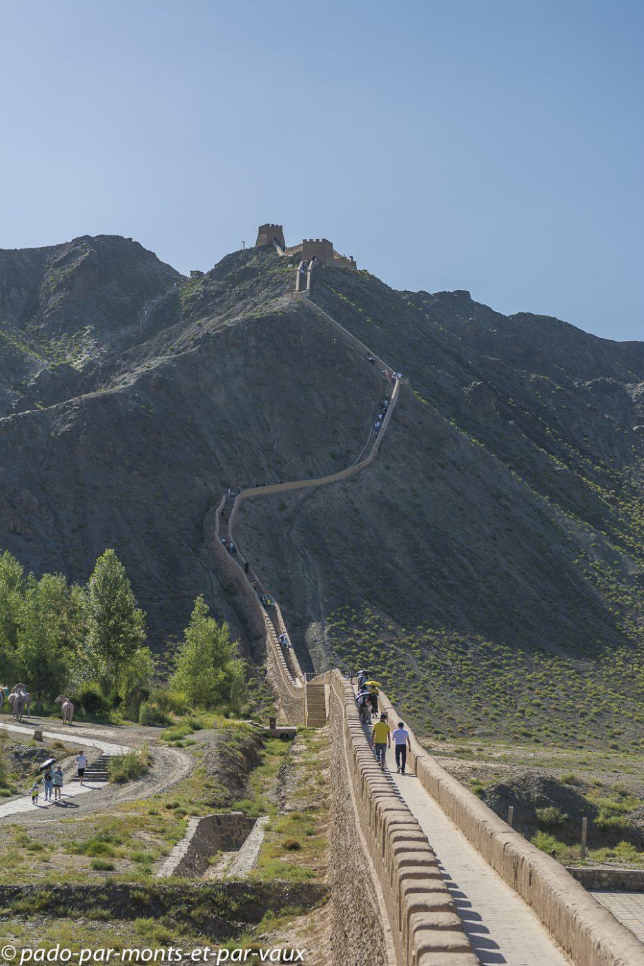 Jiayuguan - muraille de Chine