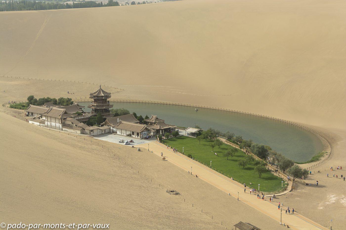 Dunhuang - Dunes géantes