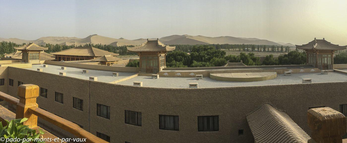 Dunhuang - hôtel Silk Road