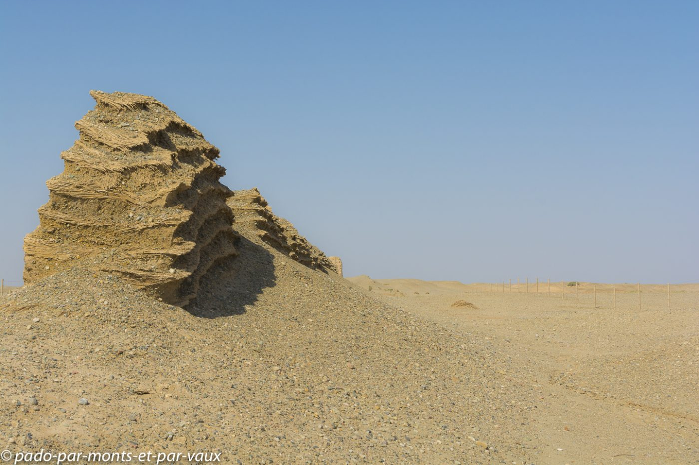désert de Gobi - muraille des Han