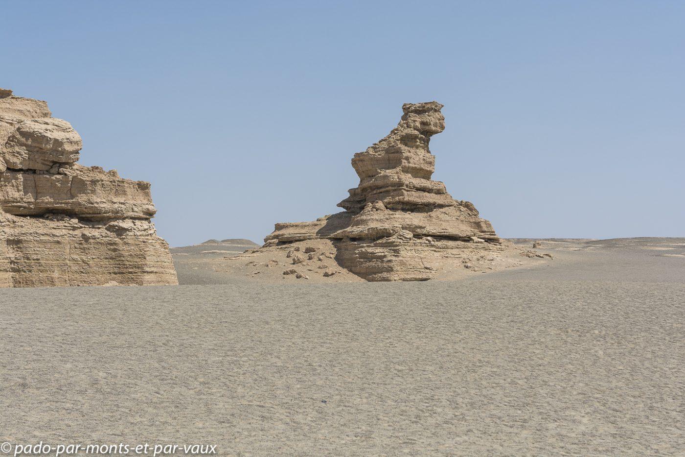 désert de Gobi - Yandan