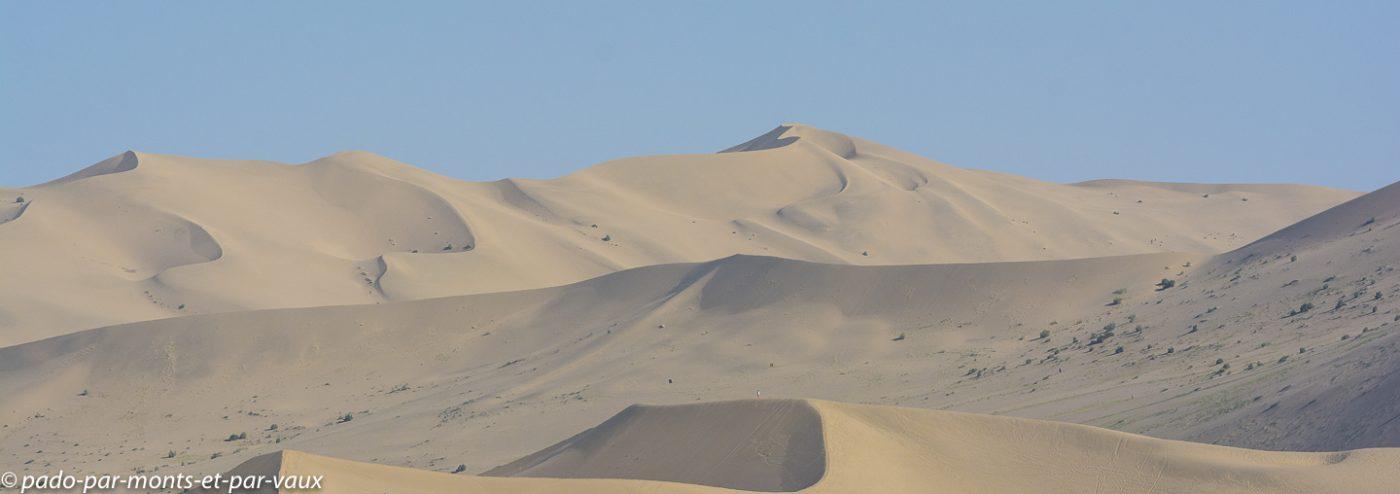 Dunes de Dunhuang