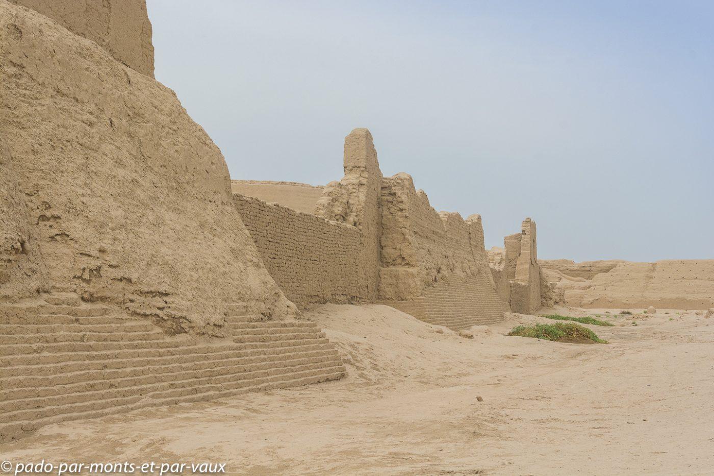 Turpan - ruines de Gaochang