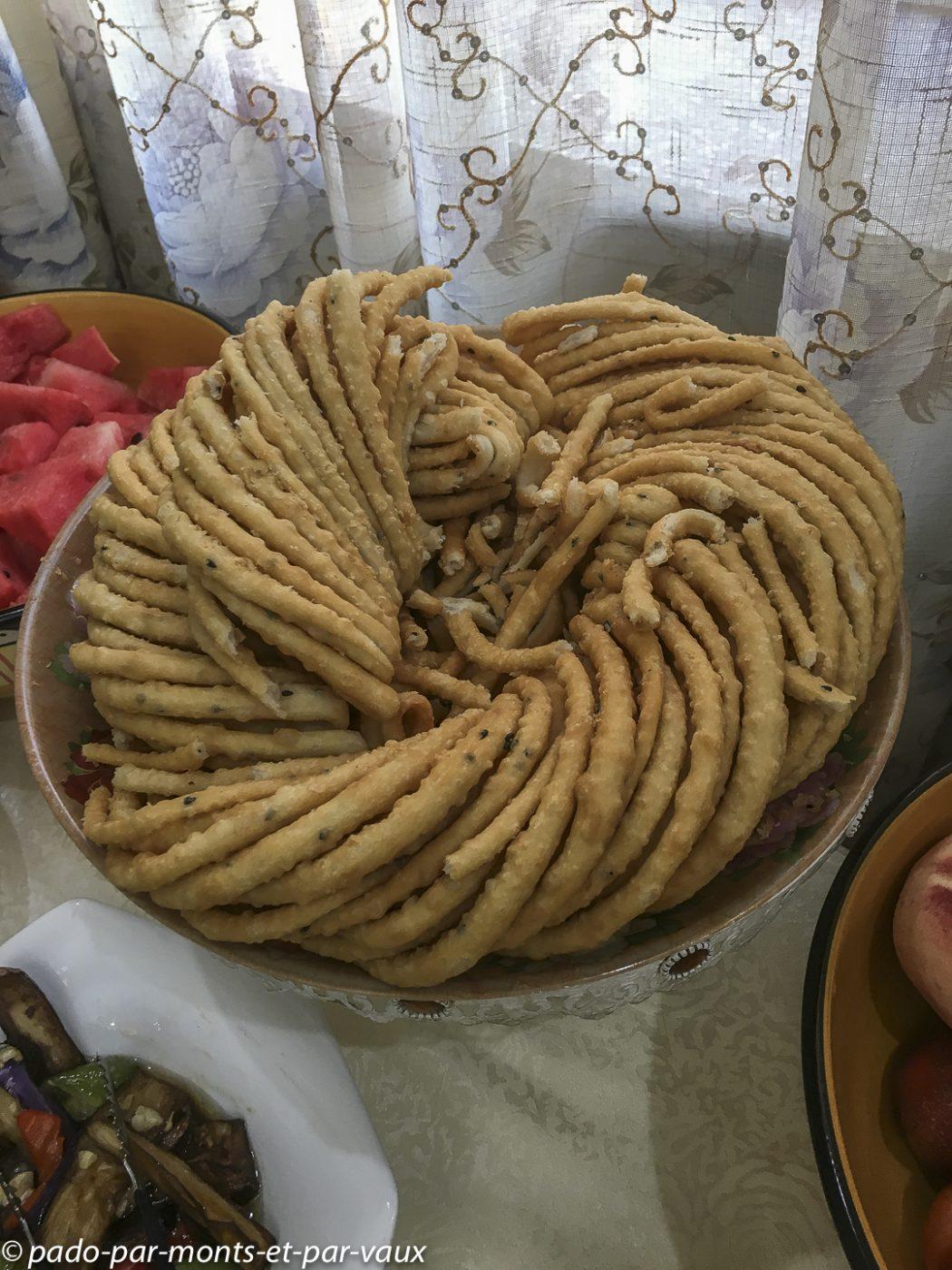 Turpan - petit déjeuner