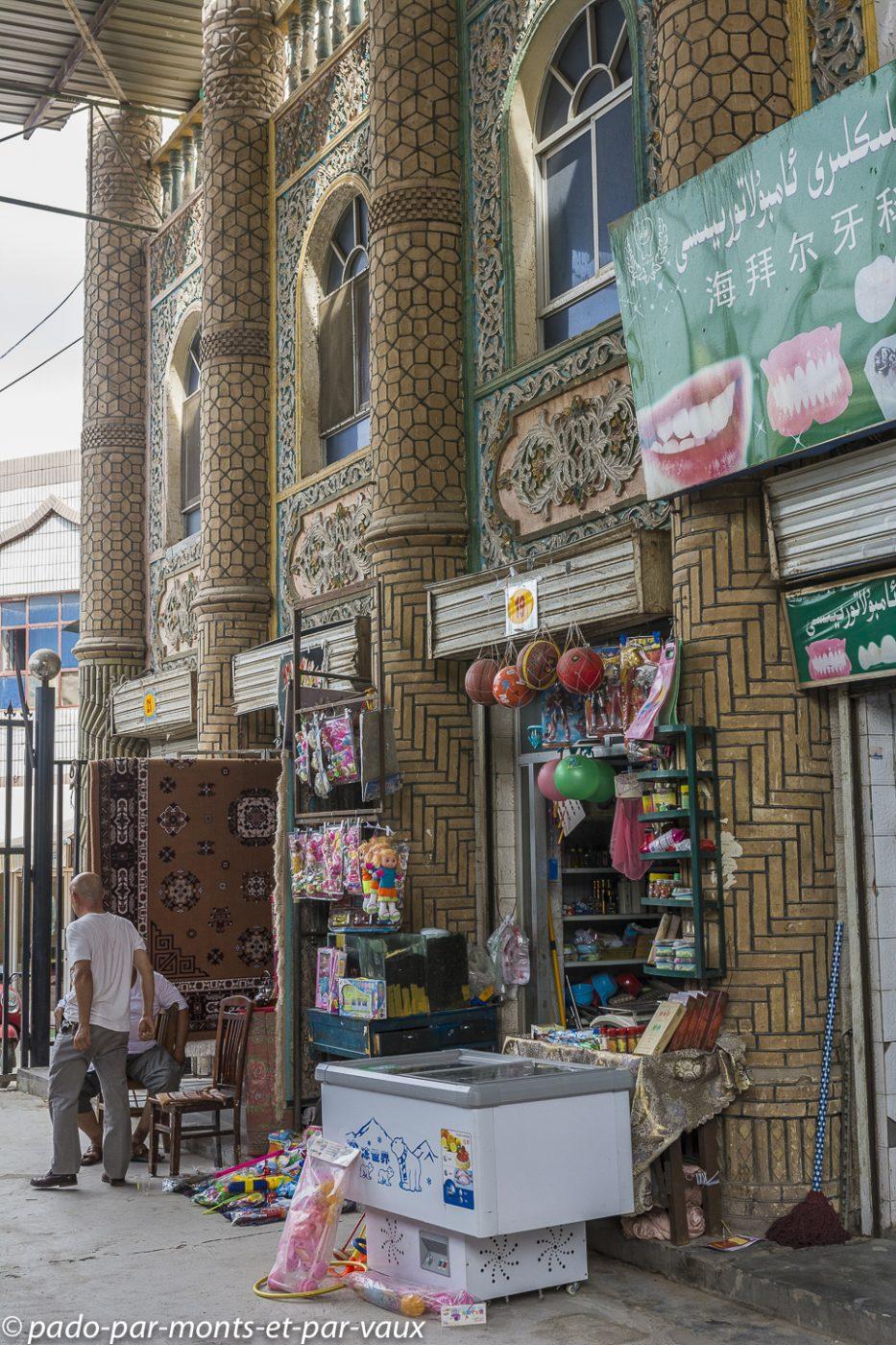 Turpan - bazar