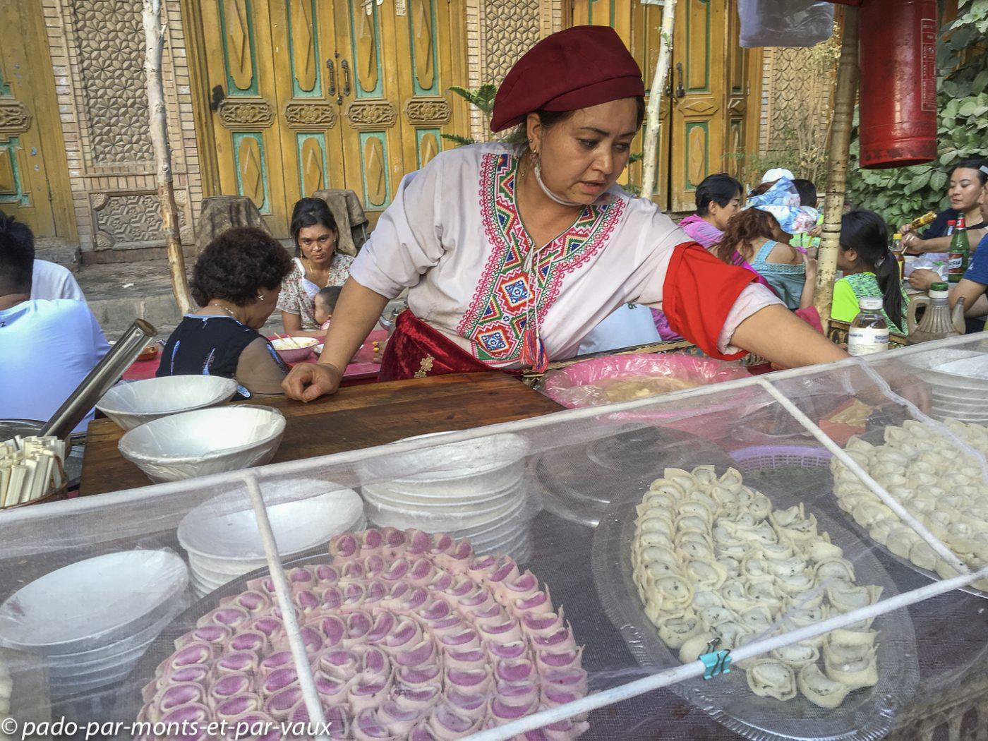 Kashgar  raviolis