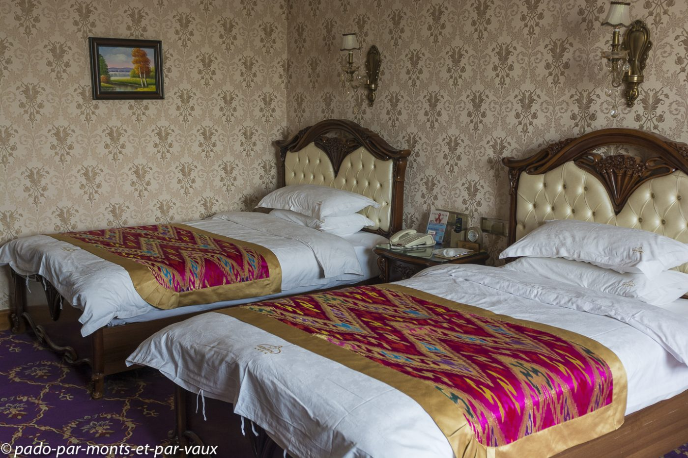 Kashgar notre chambre