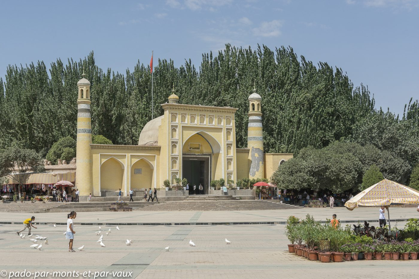 Kashgar - mosquée