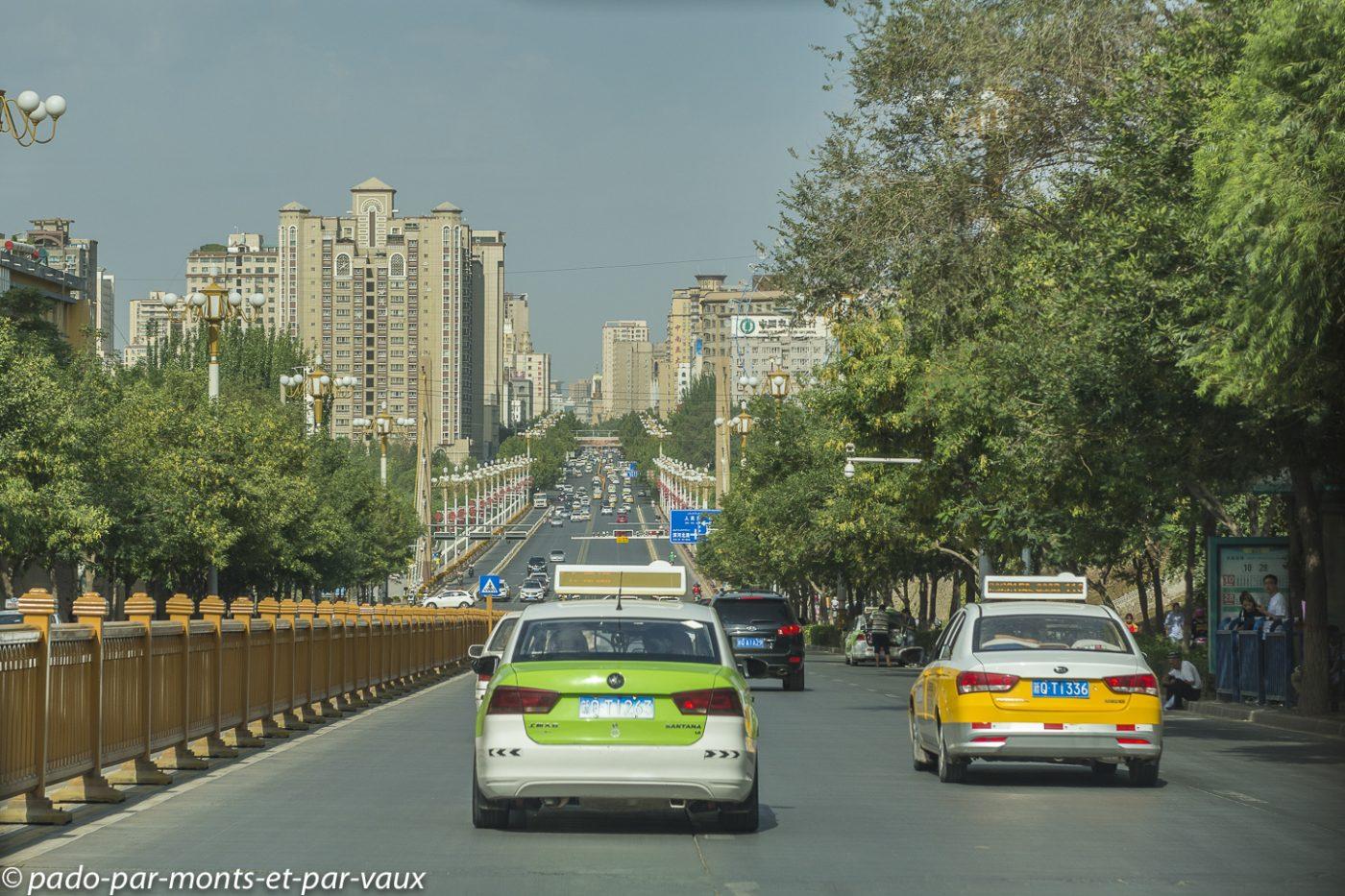 Kashgar ville moderne