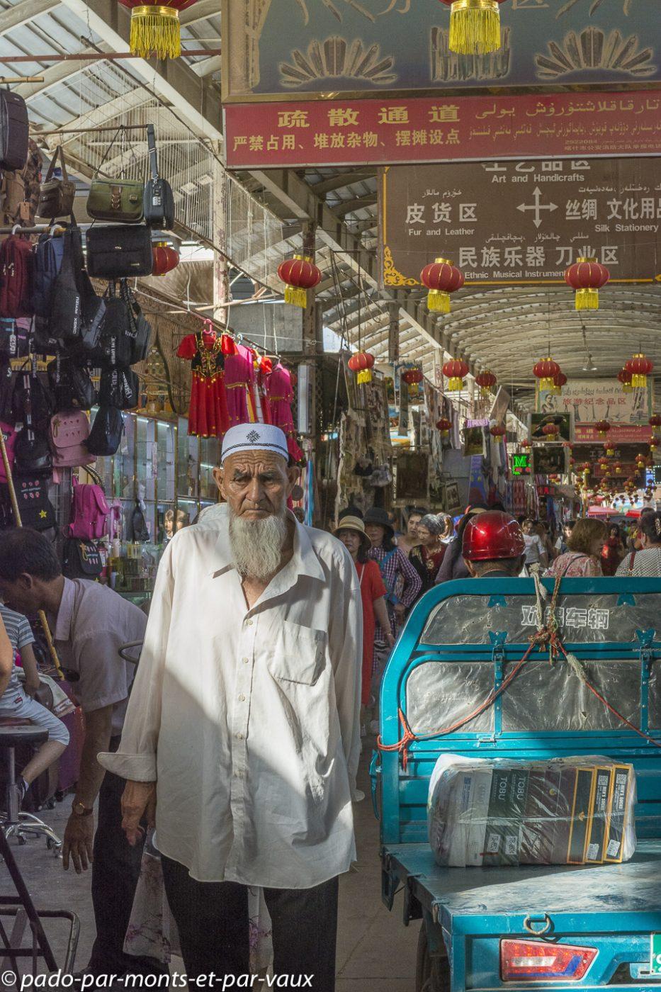 Kashgar grand bazar