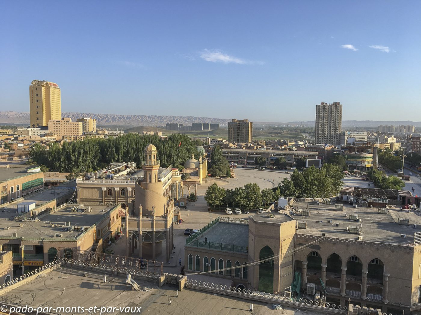 Terrasse de l'hôtel Sultan