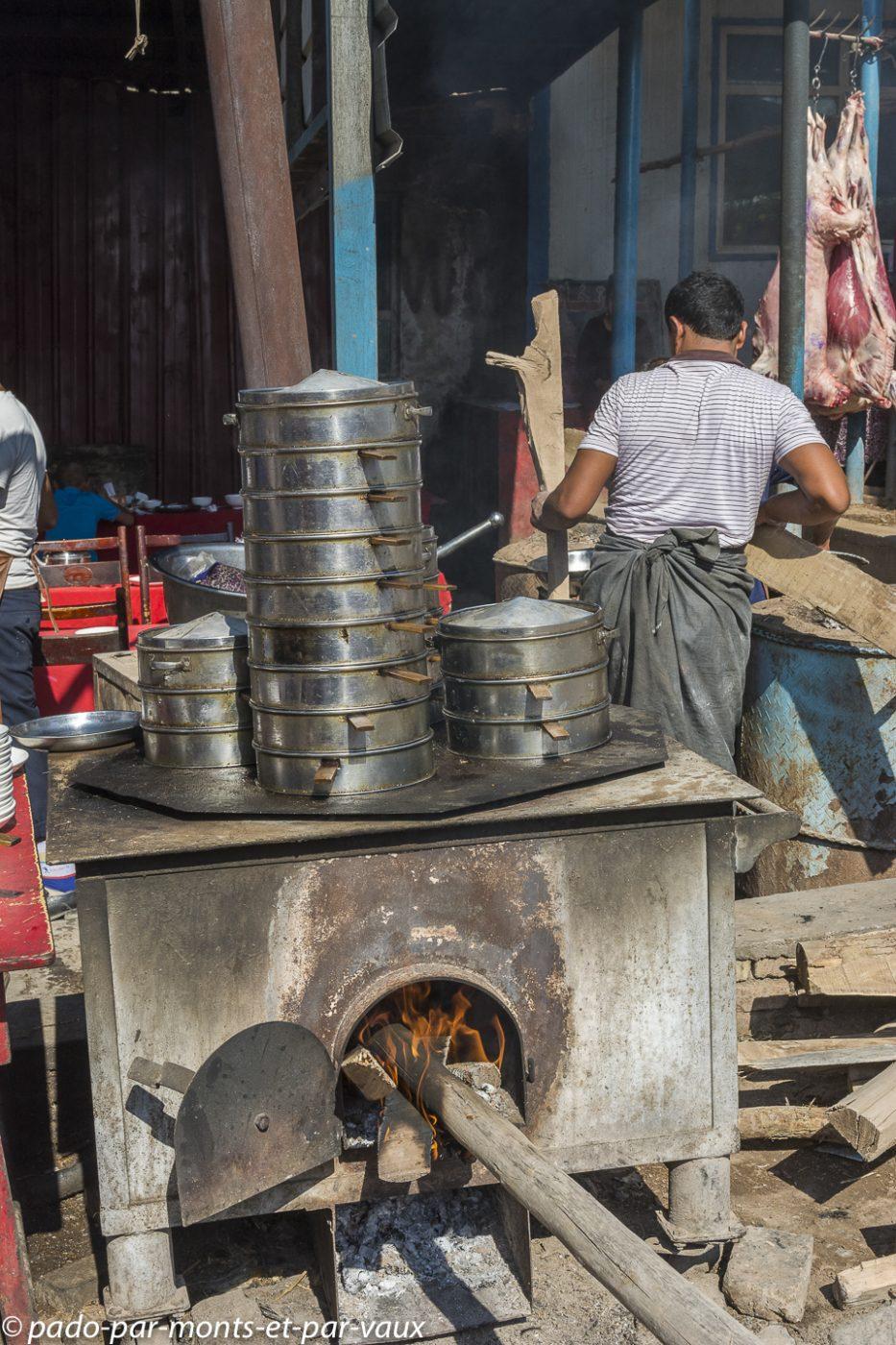 Kashgar - Marché aux bestiaux