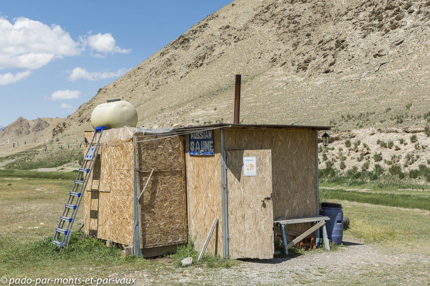 Tach Rabat  - camp de yourte sauna