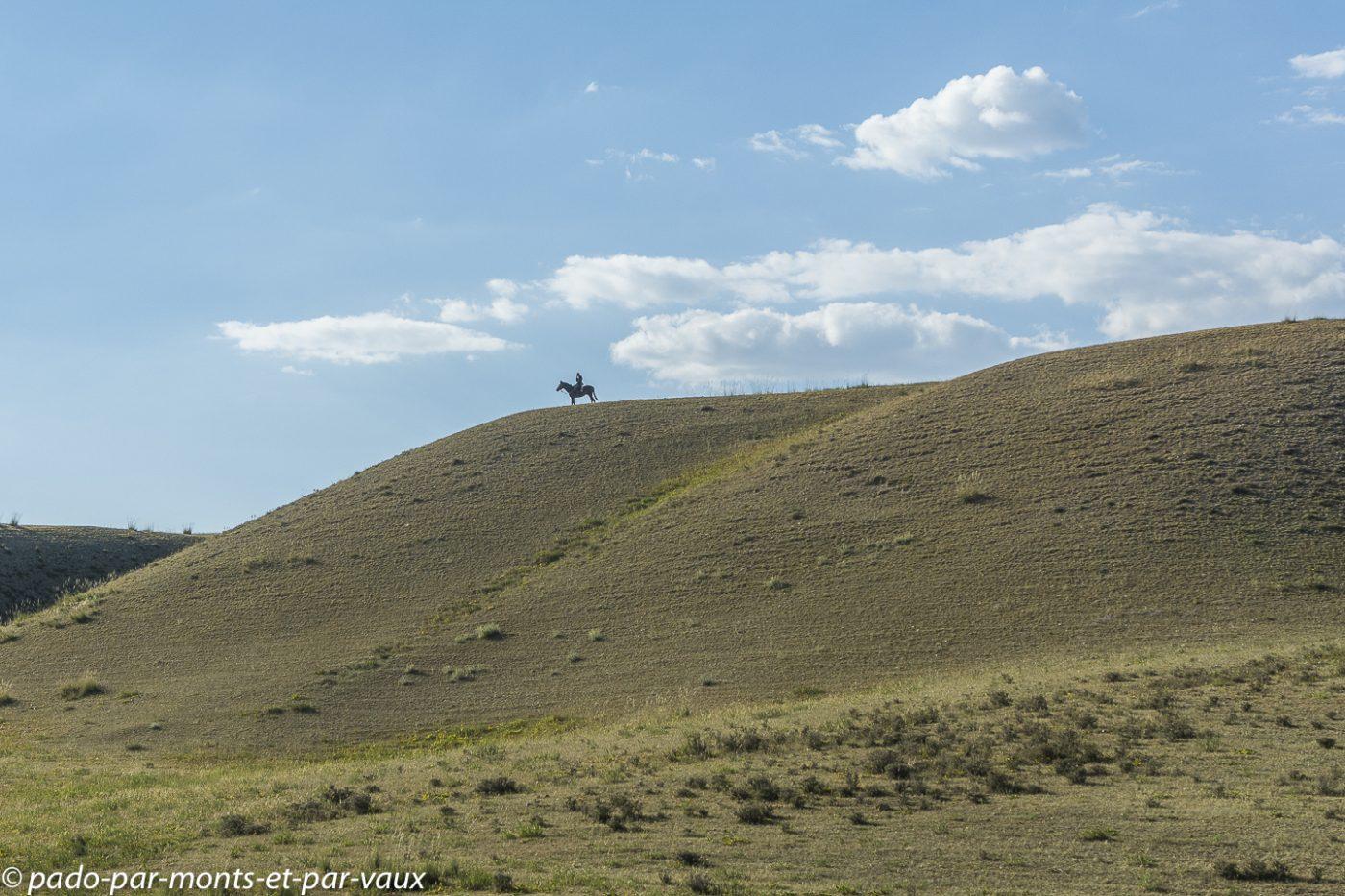 route de retour vers Naryn