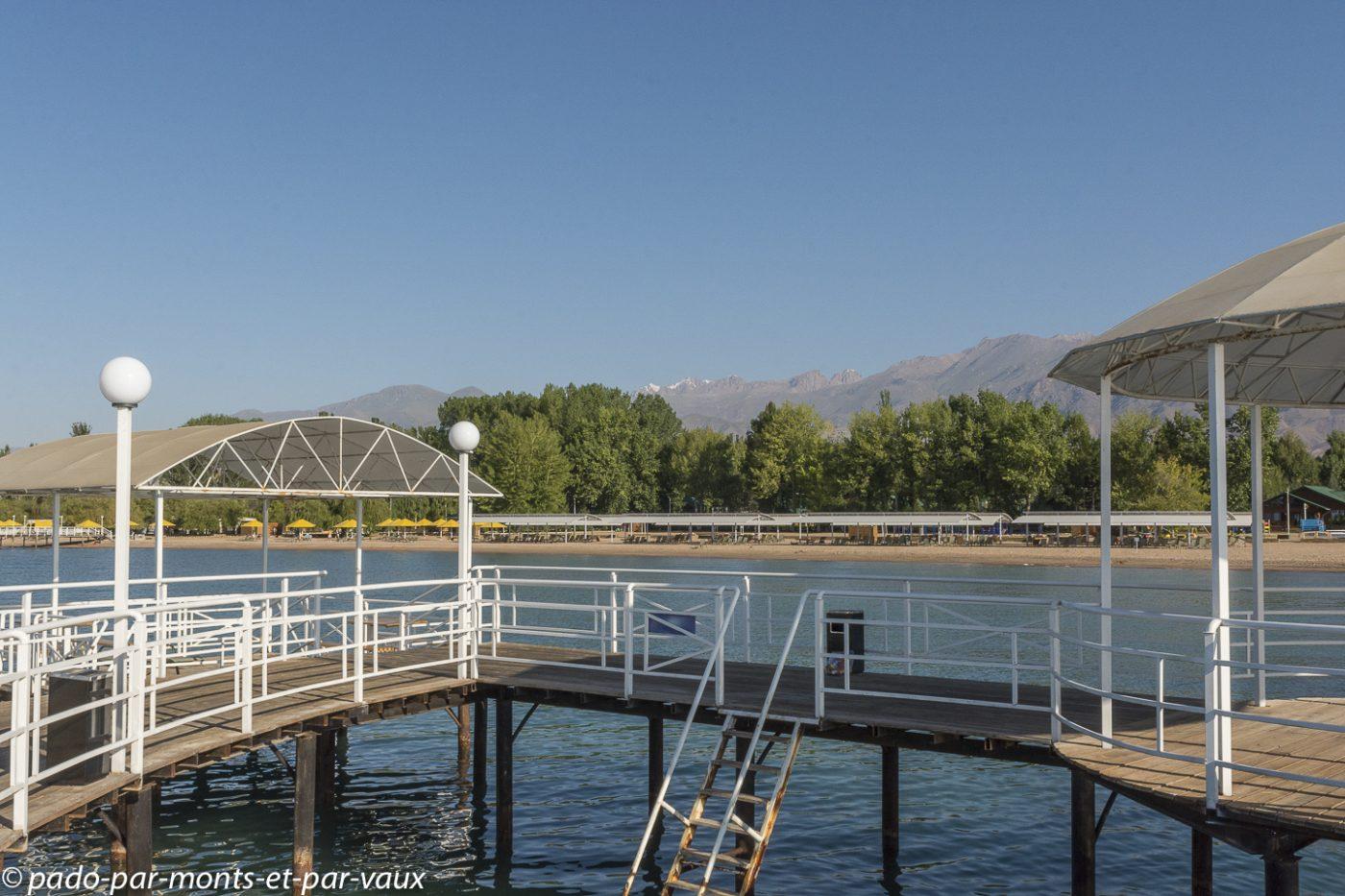 Hôtel Raduga - lac Issyk-Koul
