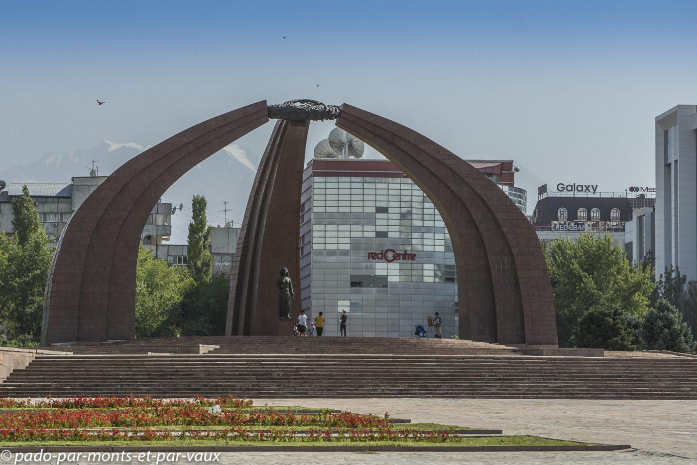 Bichkek - Place de la victoire