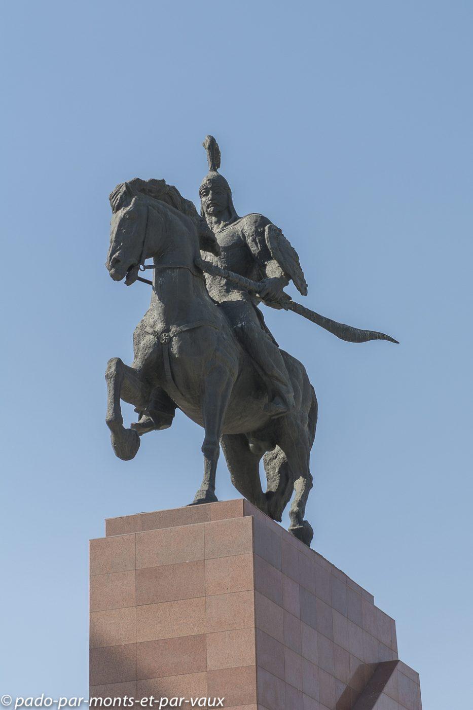 Bichkek - Place  Ala-Too - Manas