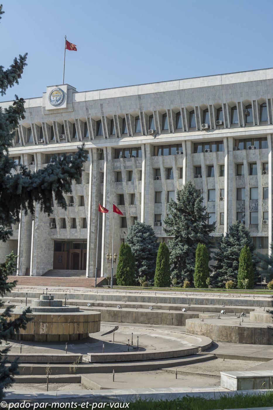 Bichkek  palais présidentiel