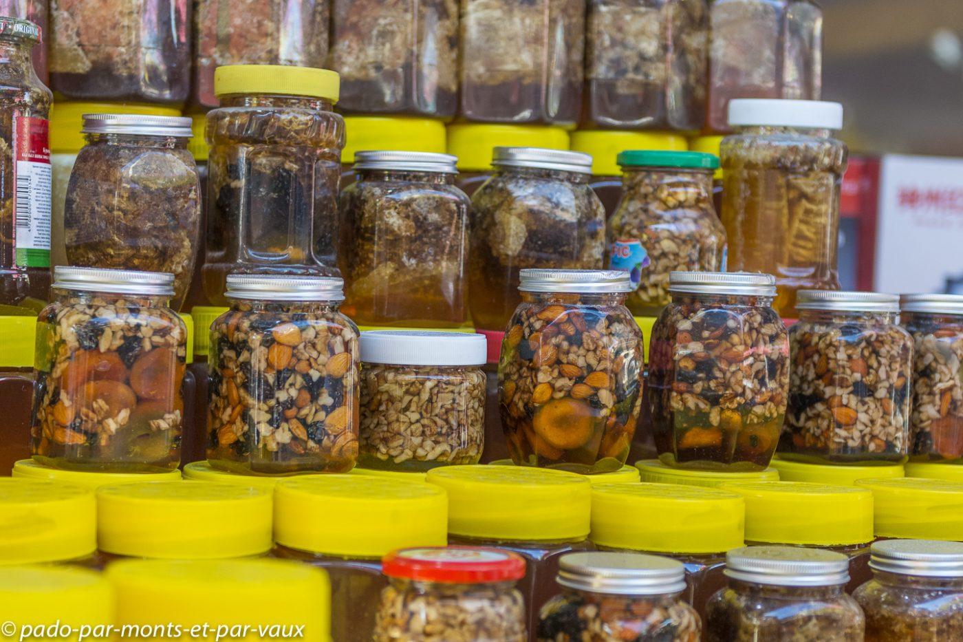 Marché de Bichkek - miels