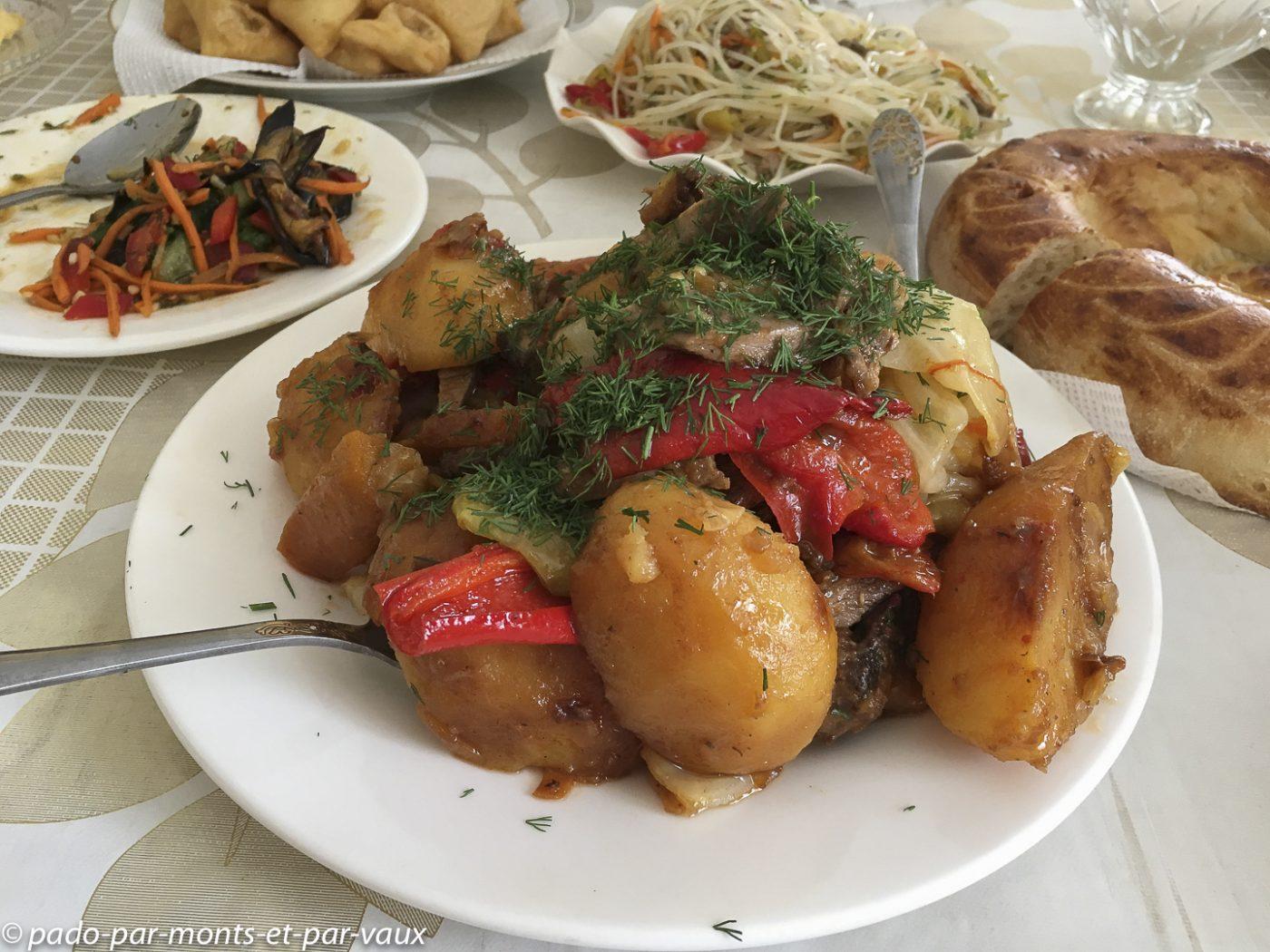 cuisine kirghizhe