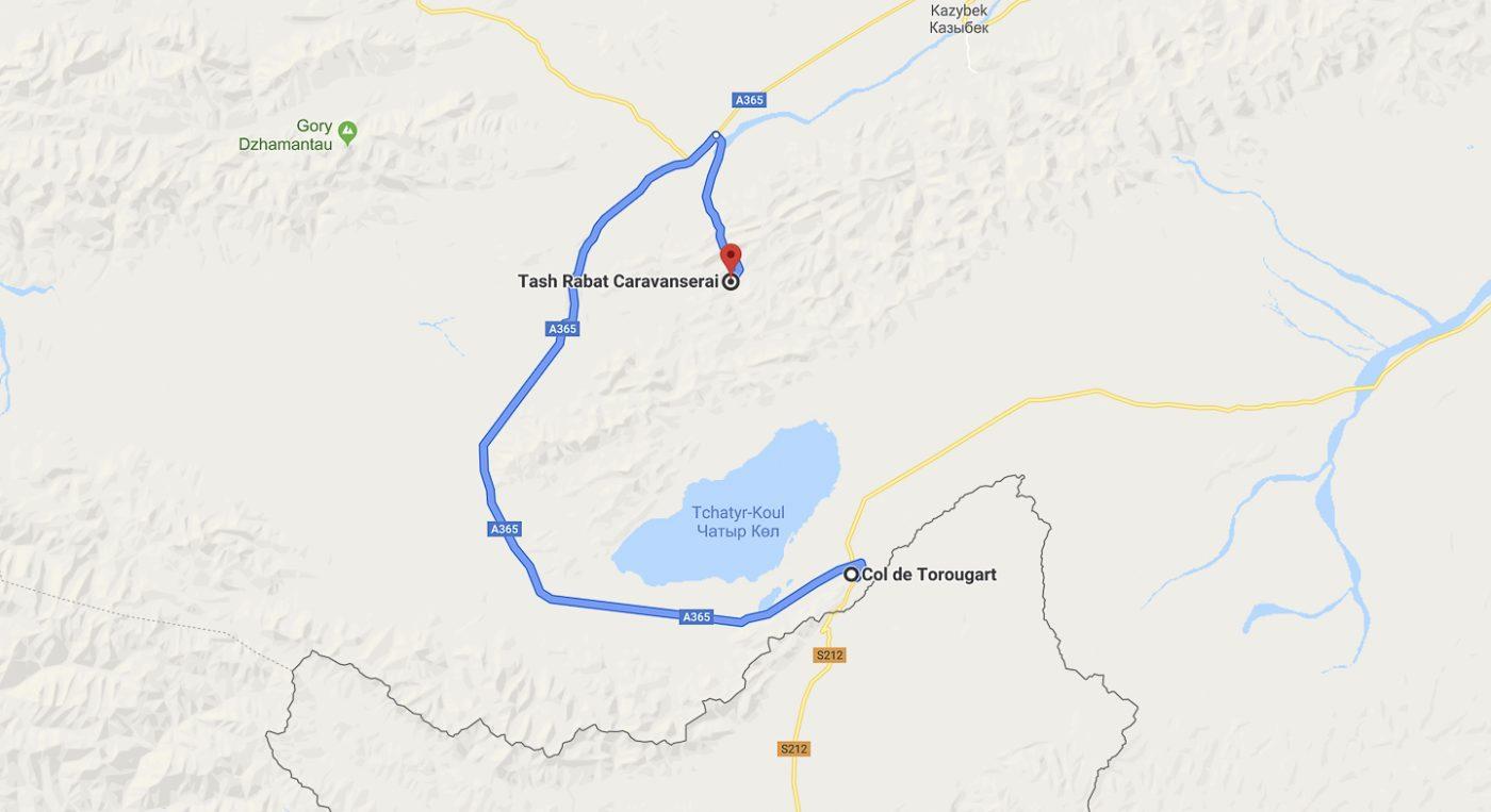 Du col de Torugart à Tach Rabat