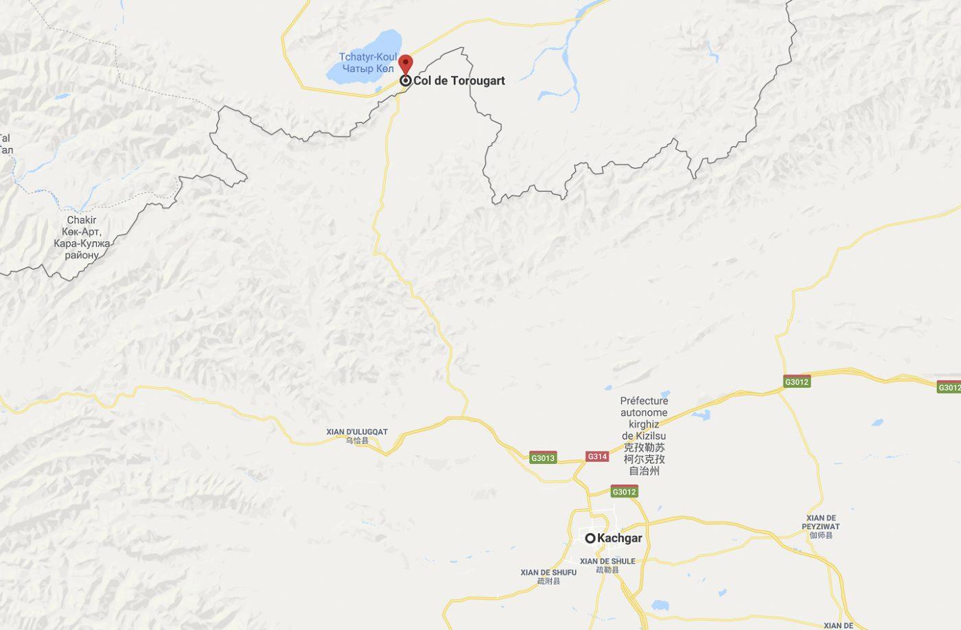 De Kashgar au col de Torugart