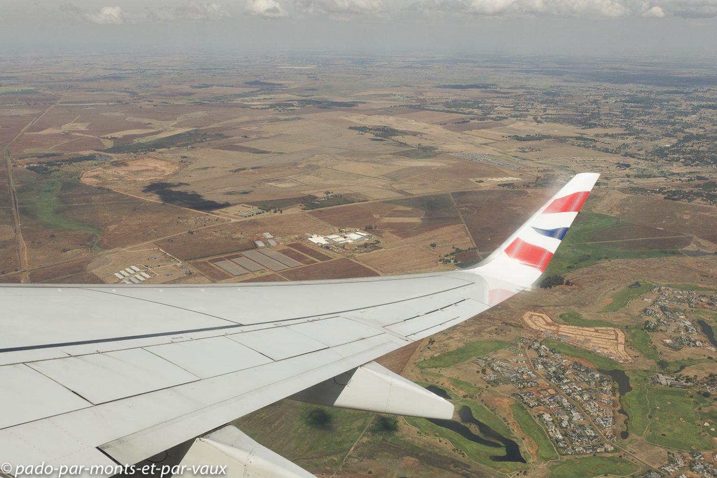 vol  Johannesburg - Port Elizabeth