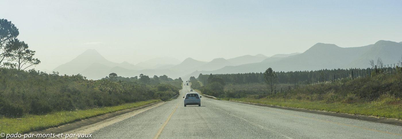 Route vers Tsitsikamma