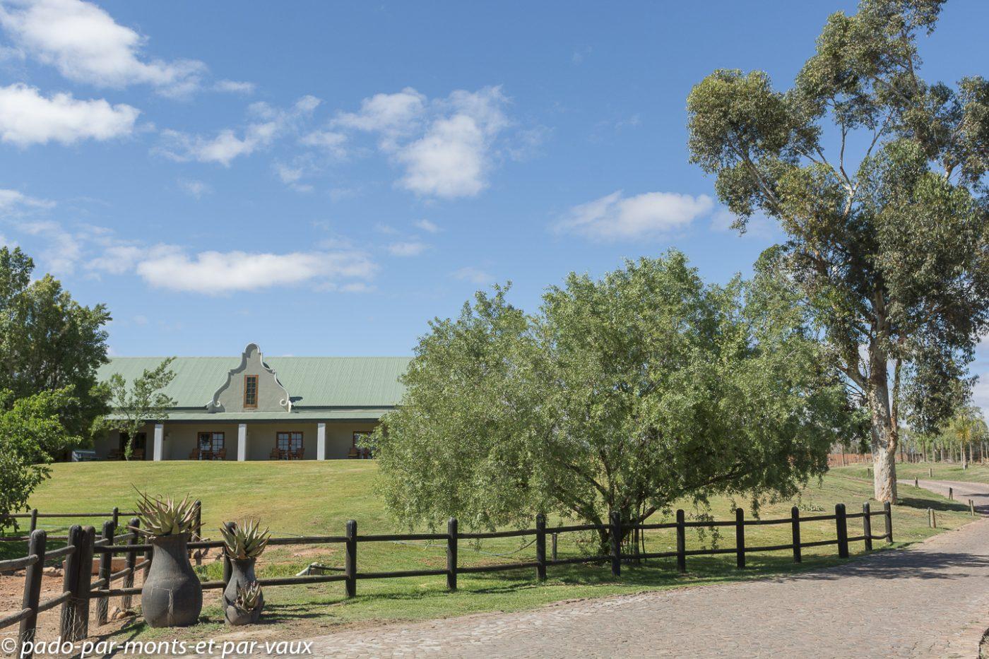Oudtshoorn  - Mooiplaas guesthouse