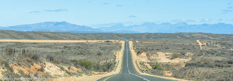 route vers  Montagu