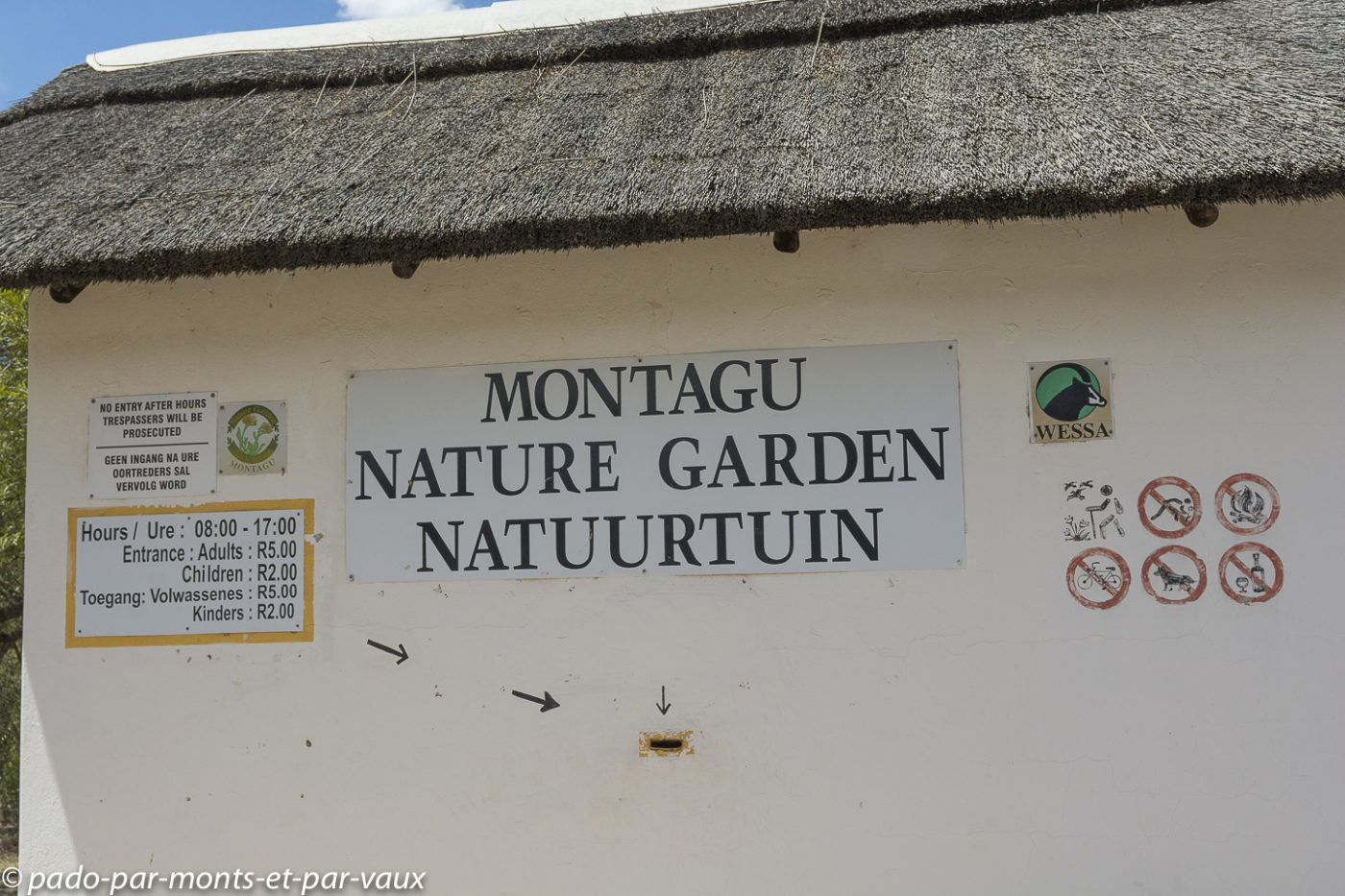 Montagu - Jardin botanique