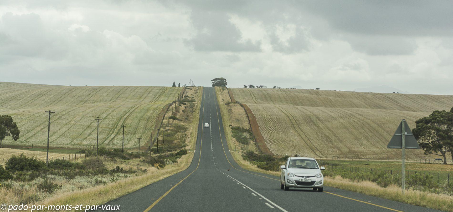 route vers Hermanus
