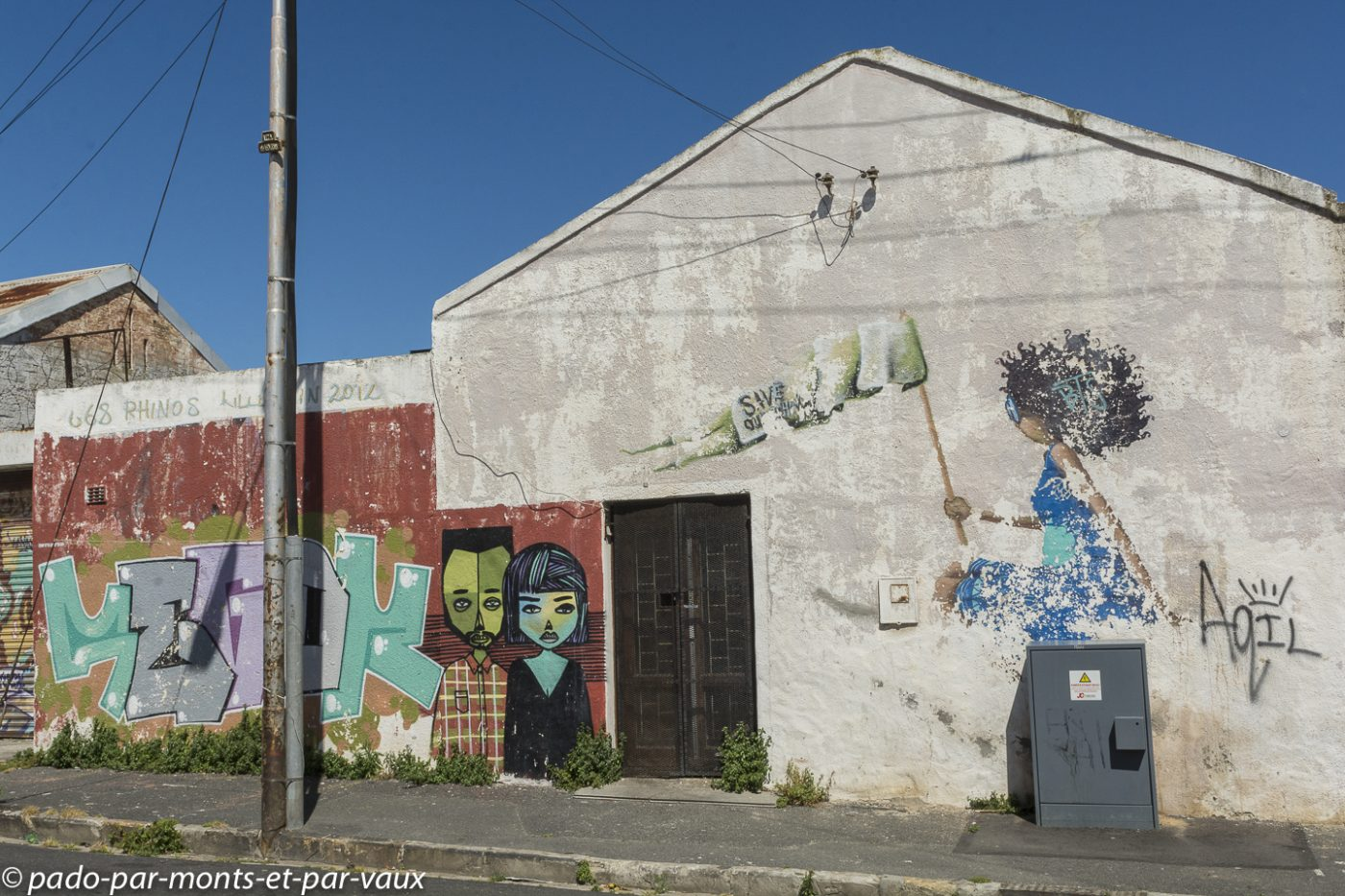 Street art Cape Town