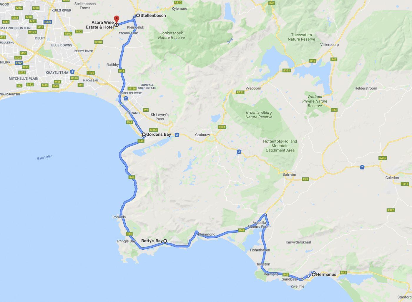 Hermanus - Stellenbosch