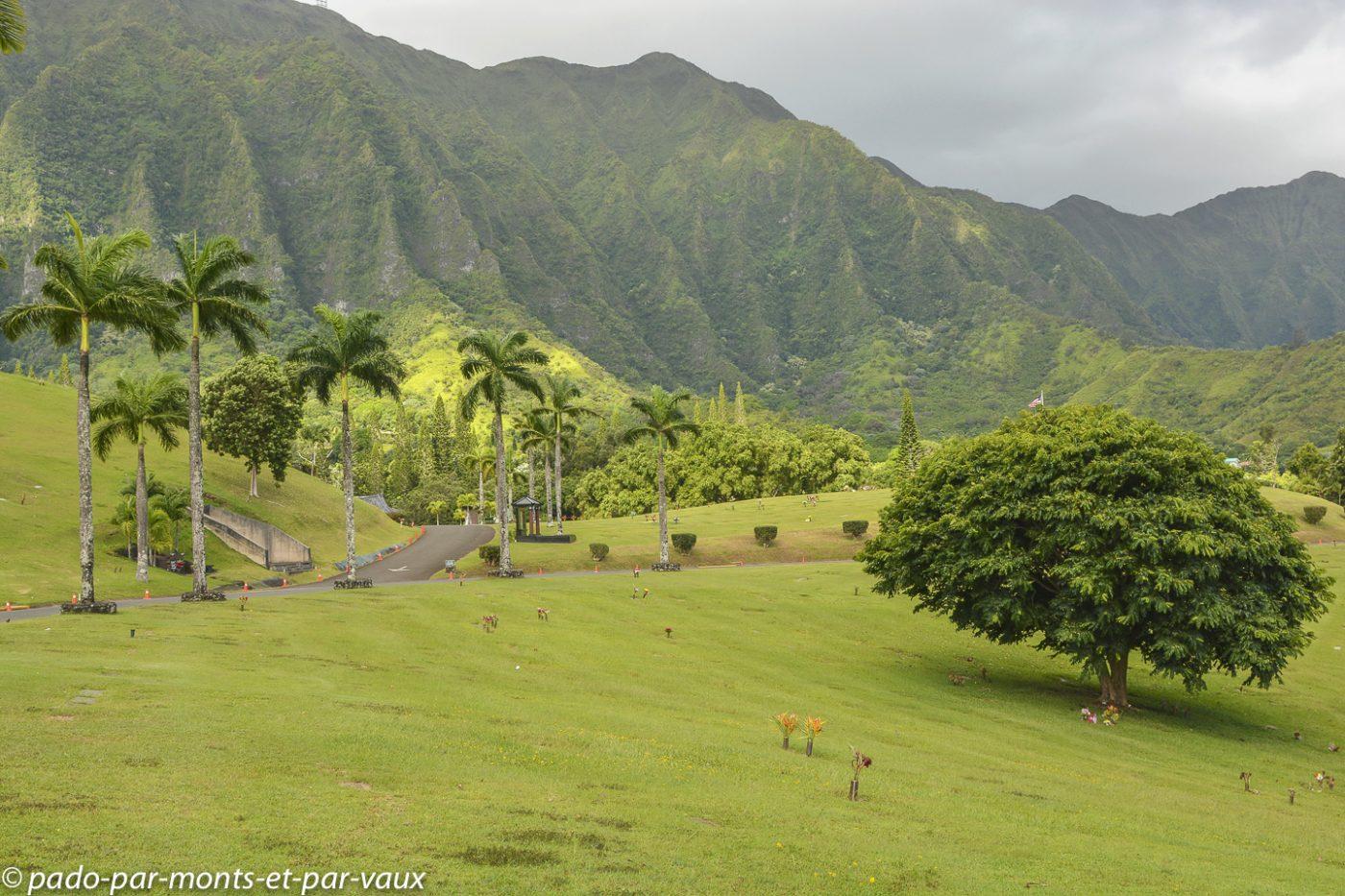 Oahu - Vallée des temples