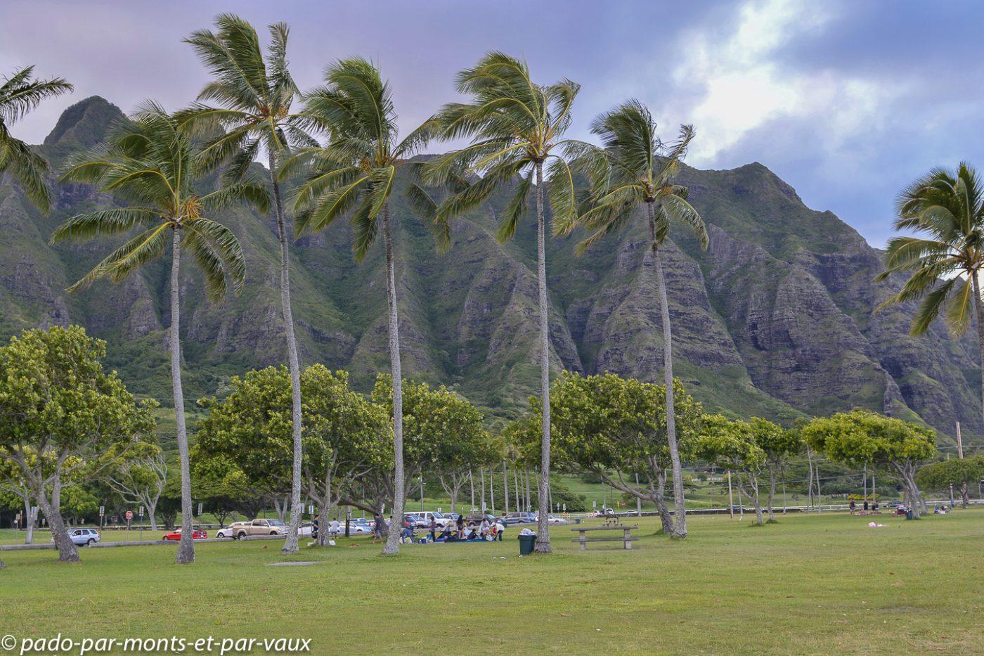 Oahu - North Shore - Kualoa park