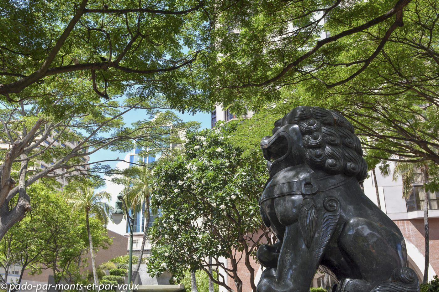 Honolulu - Downtown - Banians