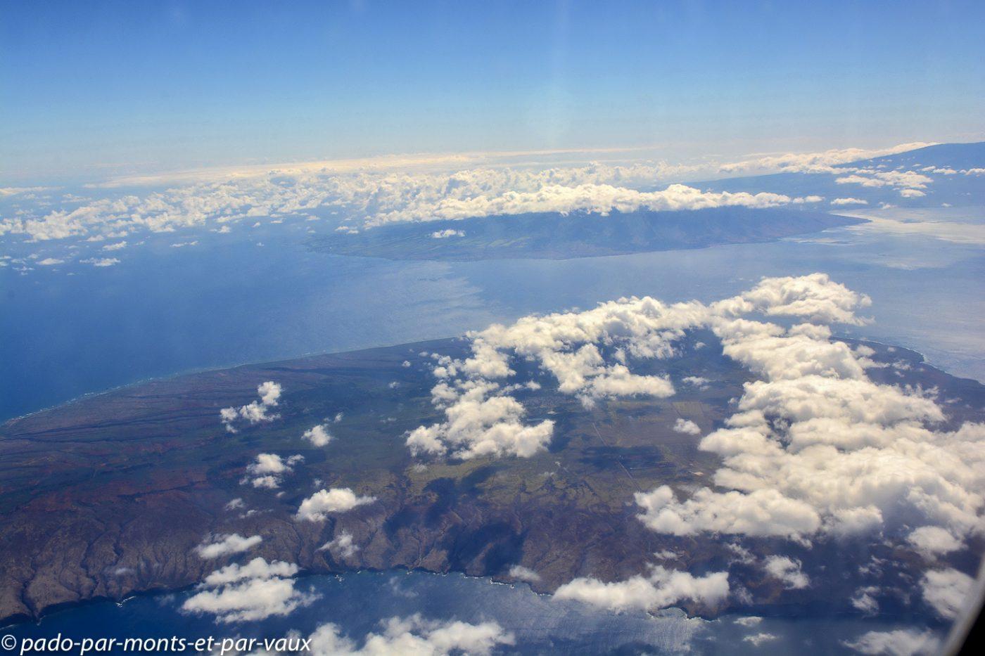 Vol vers Big Island