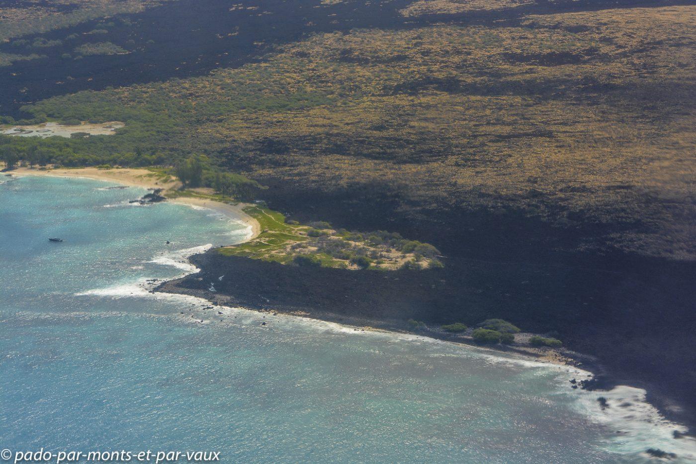 Survol de Big Island