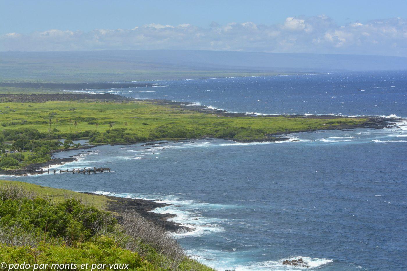 Big Island - côte sud
