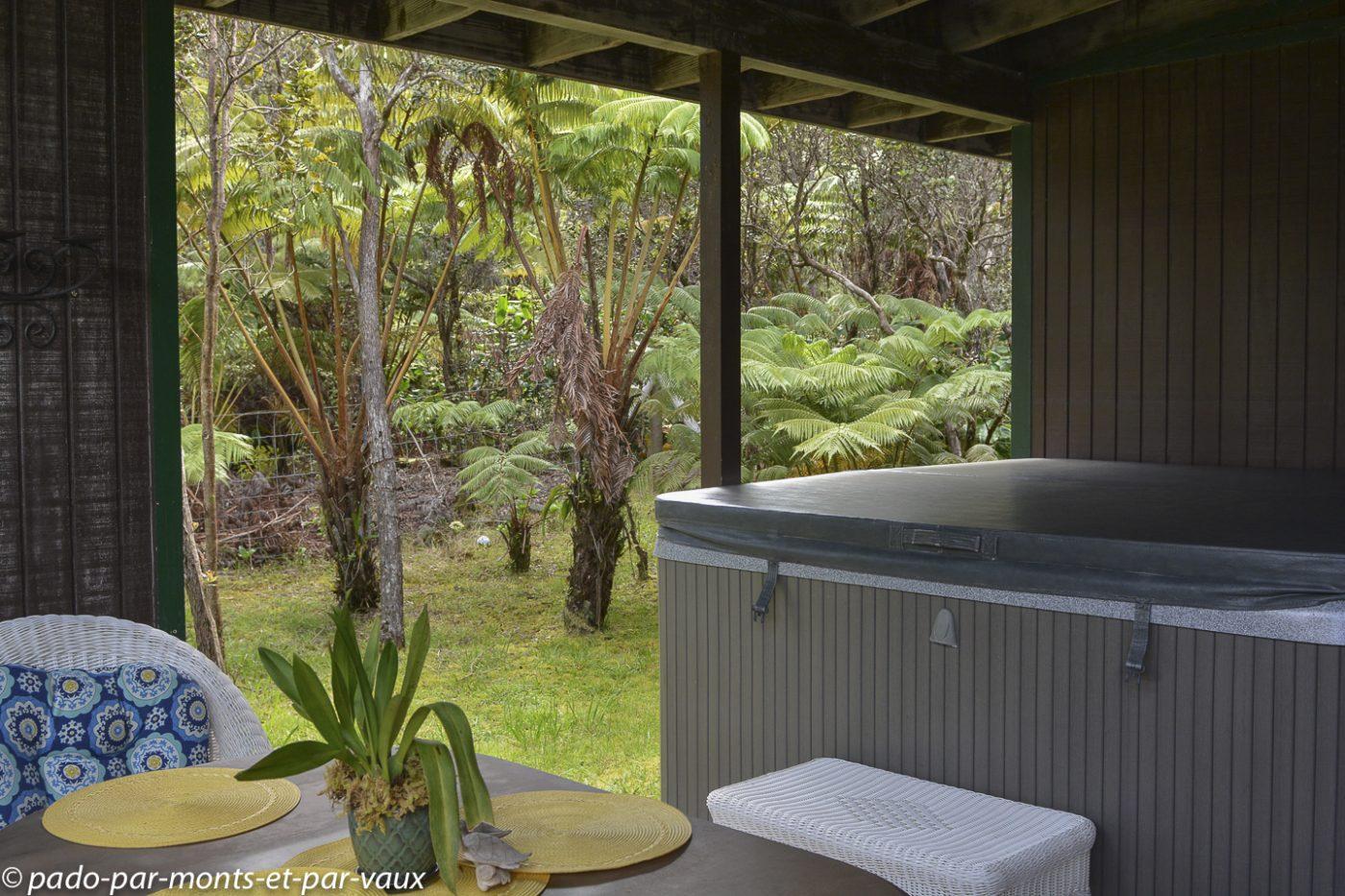 Big Island - Paniolo cottage - le jacuzzi