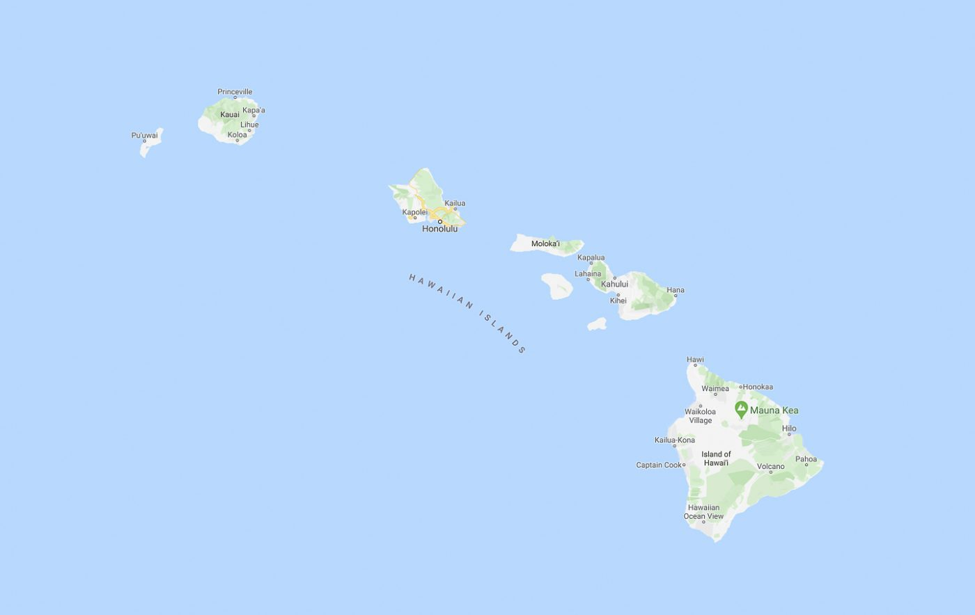 Archipel d'Hawaii