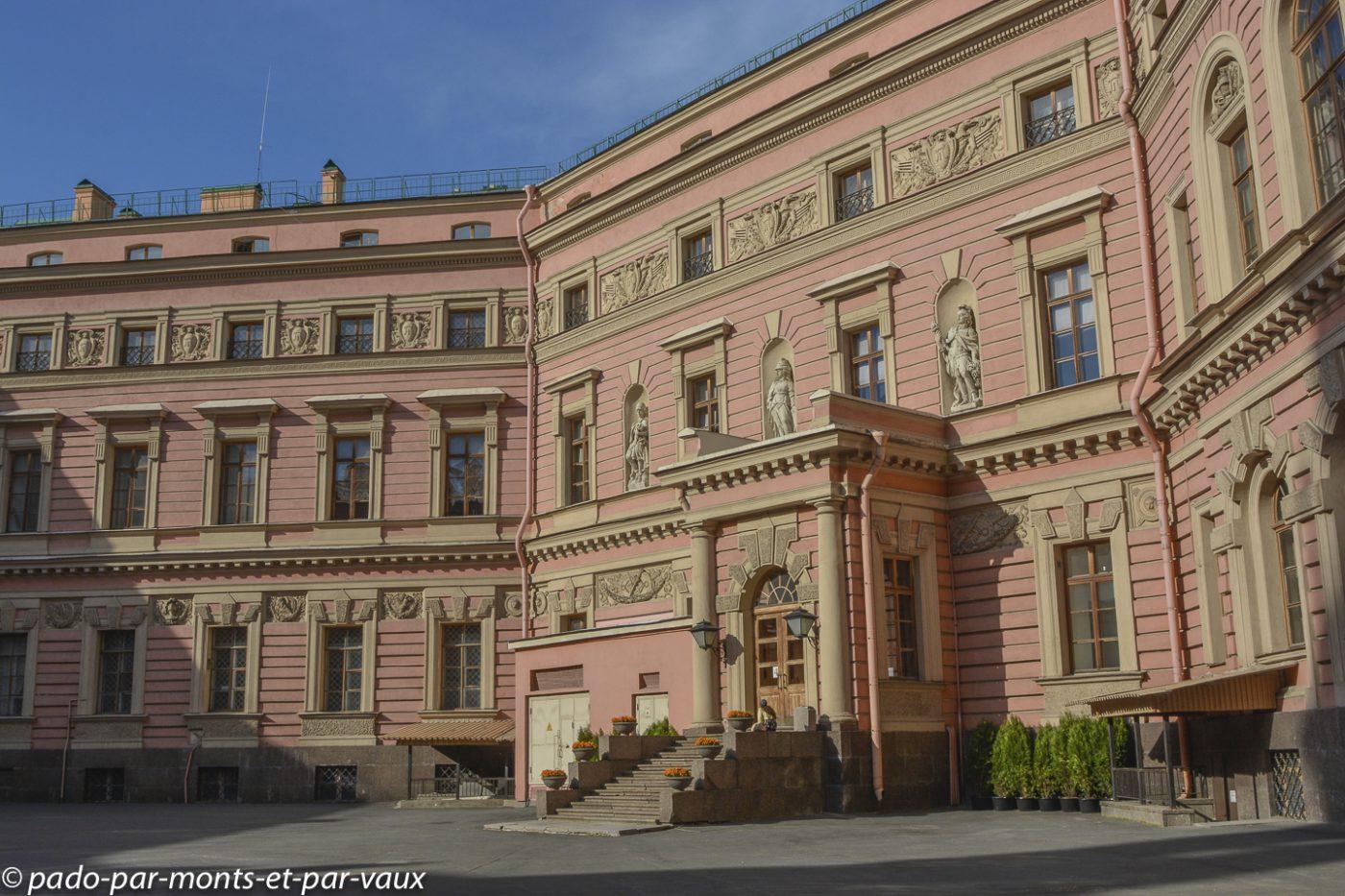 St Pétersbourg  -  Château des ingénieurs