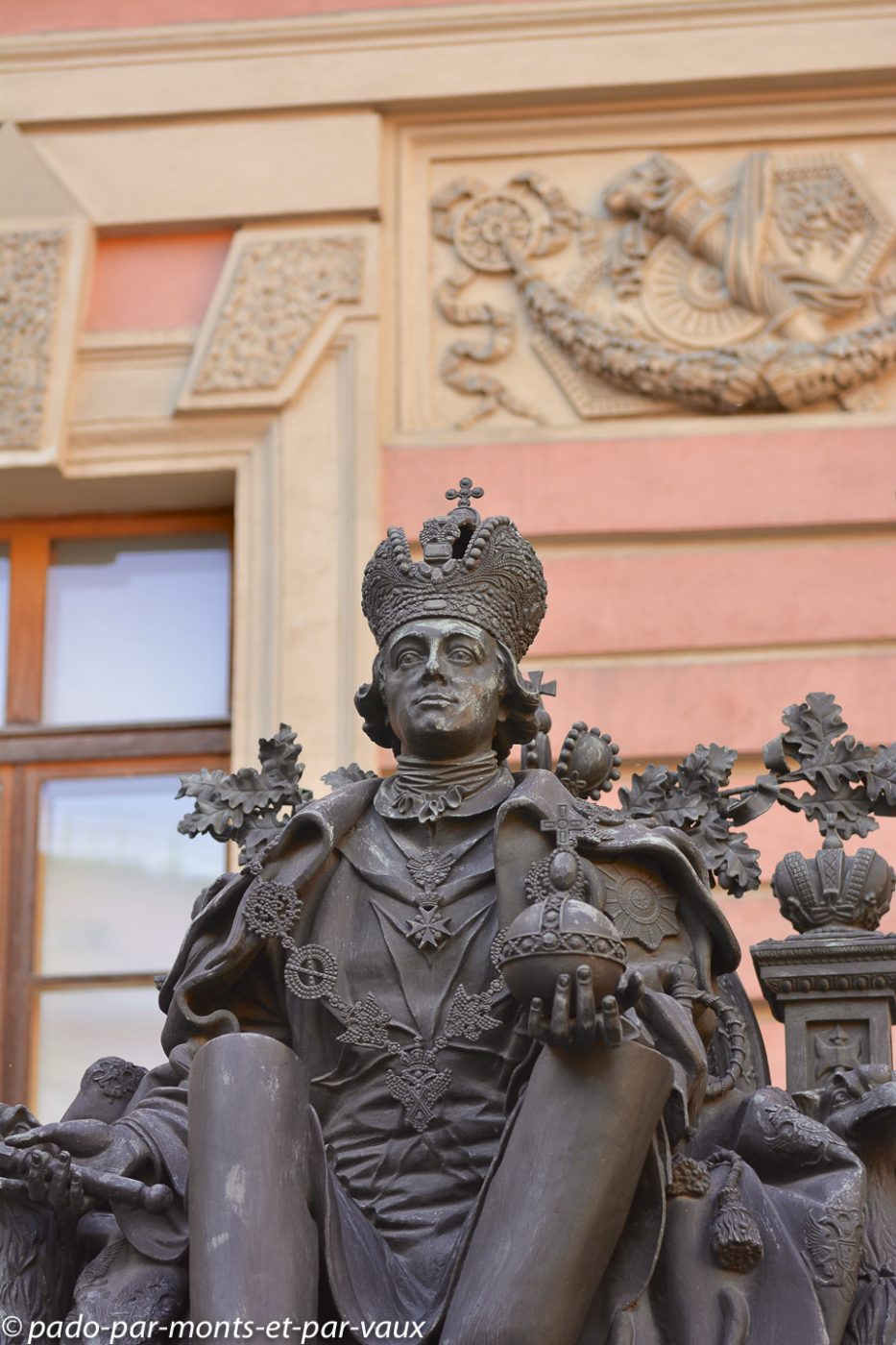 St Pétersbourg - Statue de Paul Ier