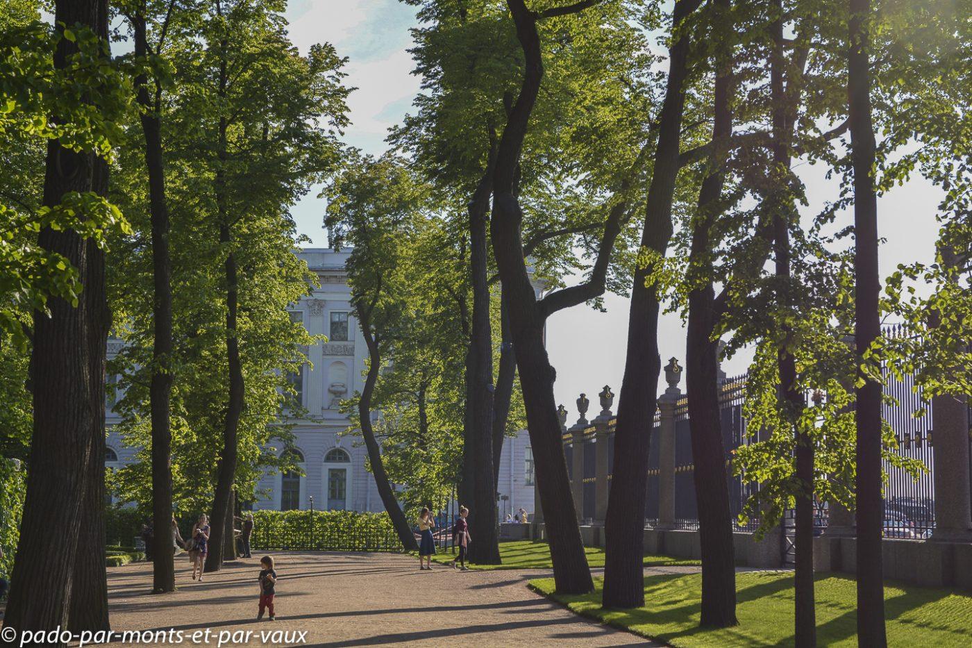 St Pétersbourg - jardin d'été