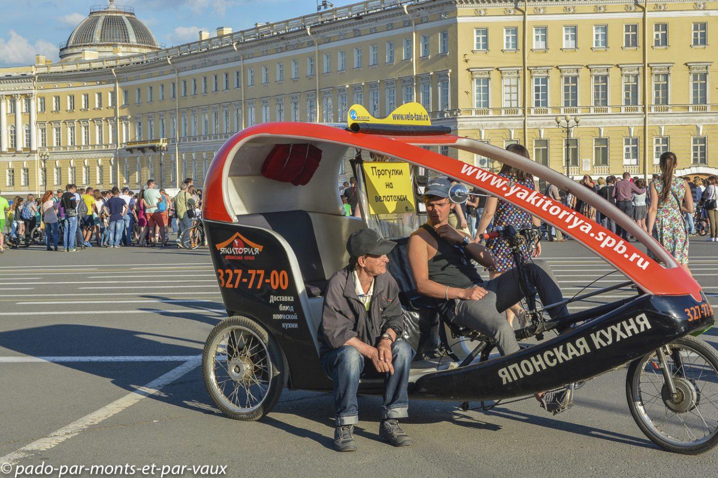 St Pétersbourg - Place du palais
