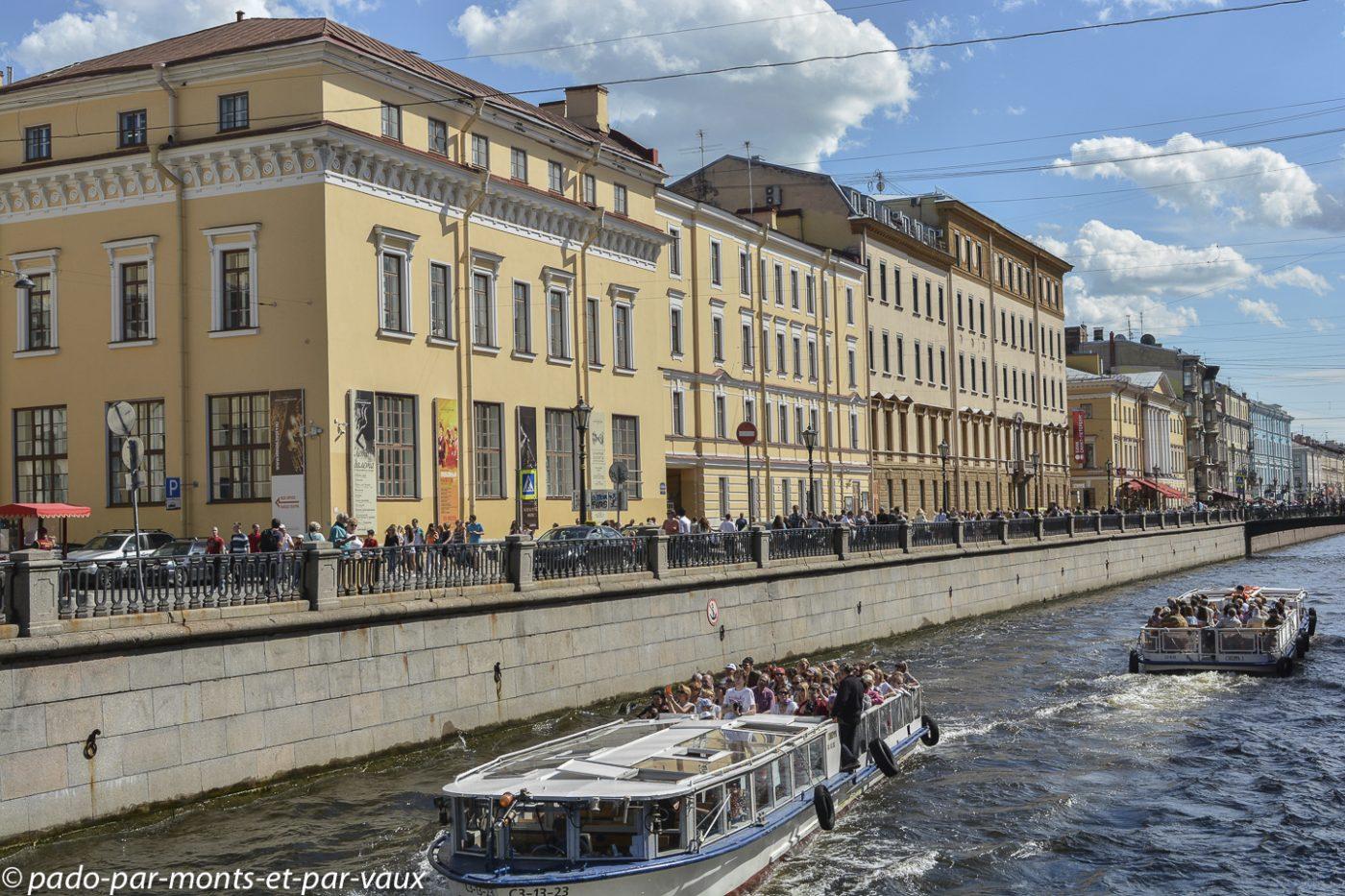 St Pétersbourg  - Canal Griboiedov