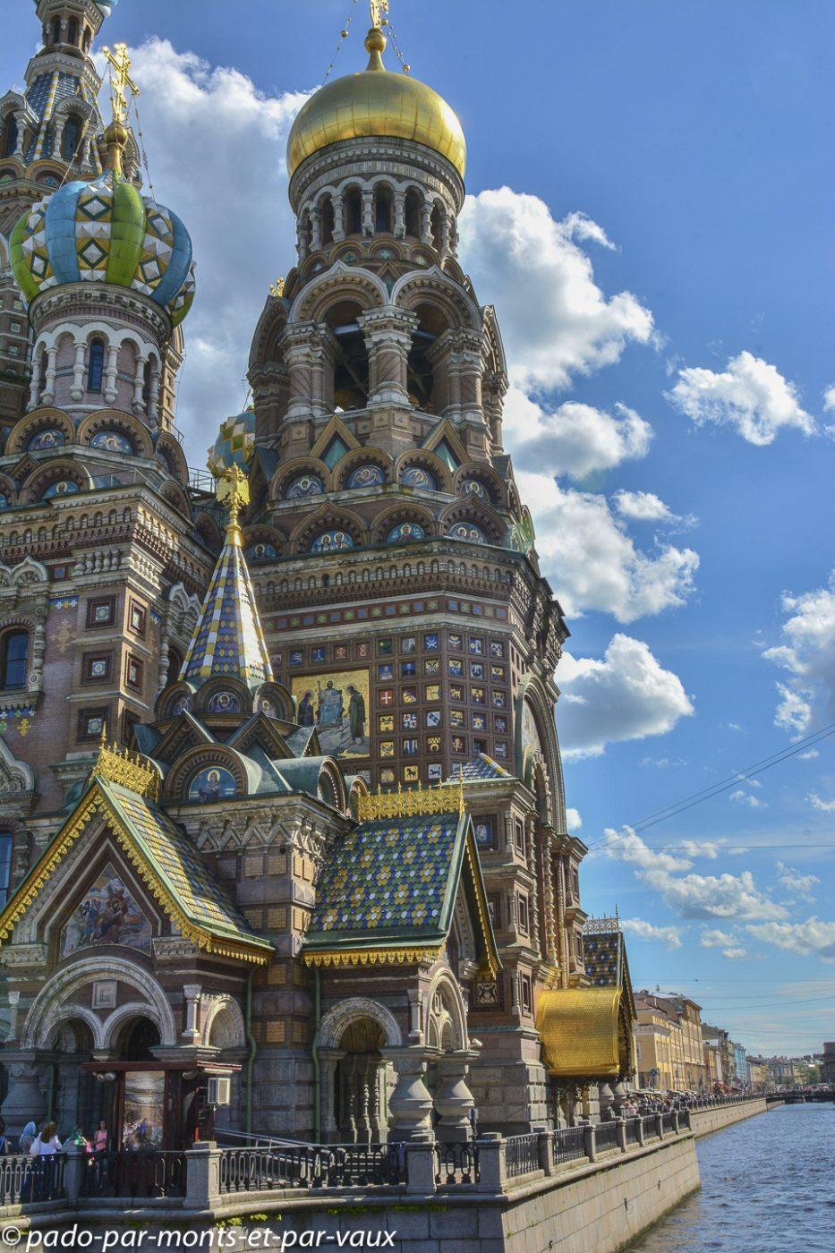 St Pétersbourg  - St Sauveur sur le Sang Versé