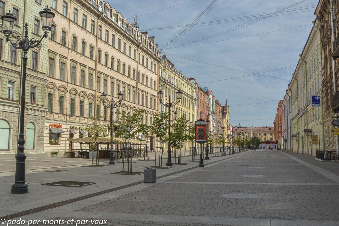 2015 - St Pétersbourg - notre rue